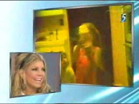 Stacy Ferguson (Fergie) home videos age 5