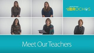 Meet Our Teachers Campaign