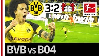 Borussia Dortmund vs. Bayer Leverkusen I 3-2 I The Great Jadon Sancho Show