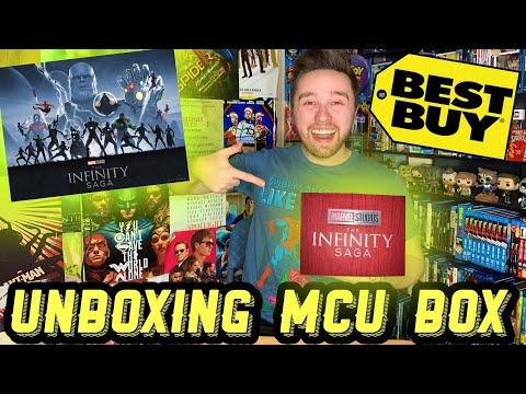 MCU INFINITY SAGA: LIMITED EDITION 4K BOX SET UNBOXING