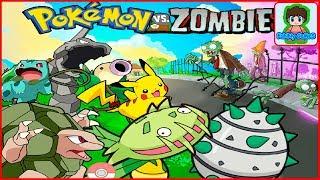 Покемоны го напали на  растение против зомби Pokemon go  plants vs zombie от Фаника