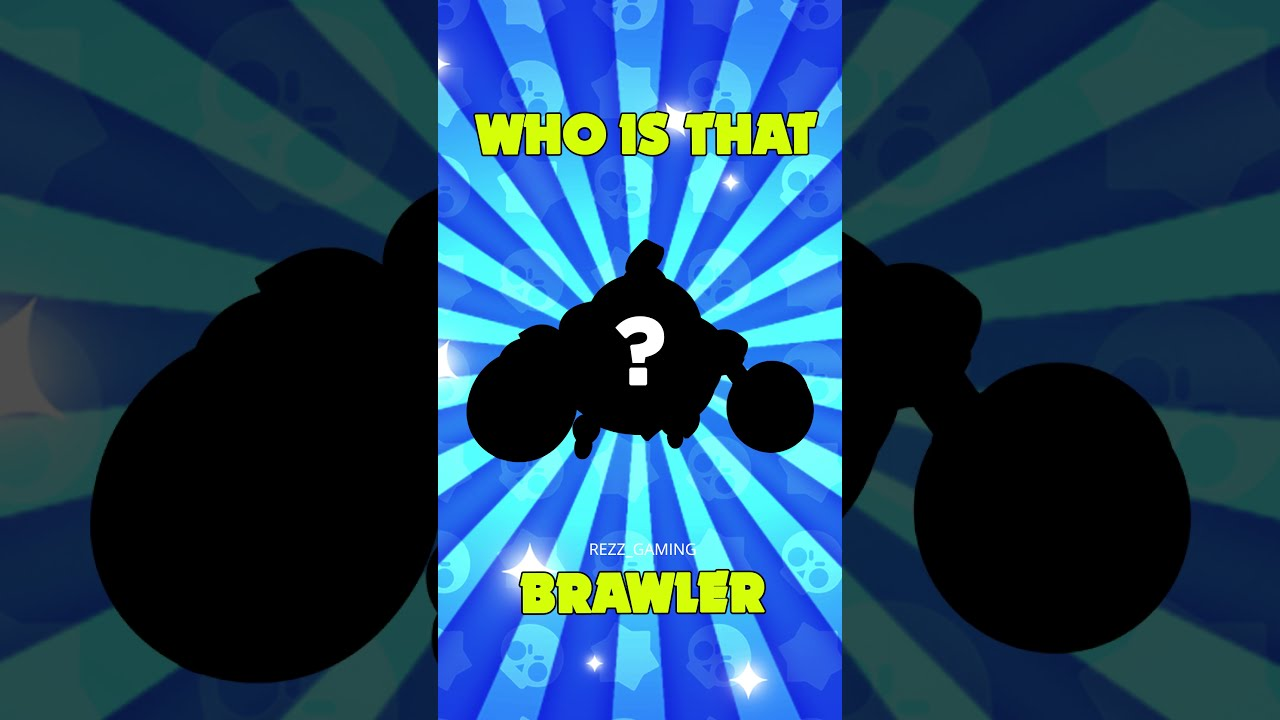 Who is that brawler? #95 #shorts