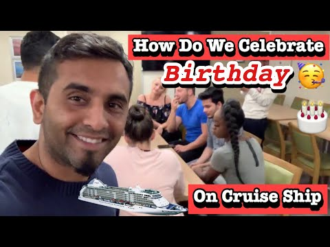 Birthday party cruise ship ( sales department)