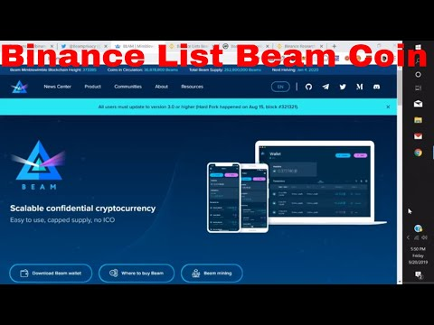 Binance list Beam Coin Beam Coin Cryptocurrency News Price Prediction Forecast Review