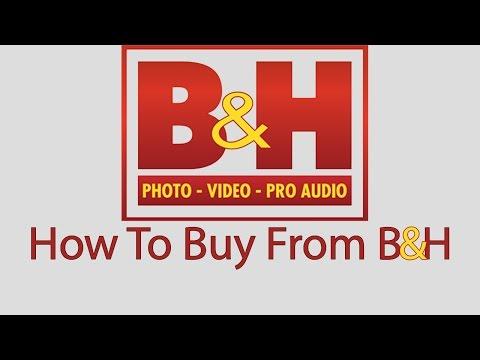 How To Buy Online From B&H (طريقه الشراء من موقع بي اند اتش)