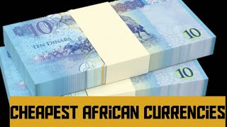 TOP 10 COUNTRIES IN AFRICA WITH WEAKEST CURRENCIES 2021 Most Cheapest Currencies