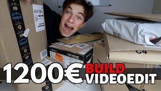 UNBOXING 💻 PC PER VIDEO EDITING 4K (1200€)