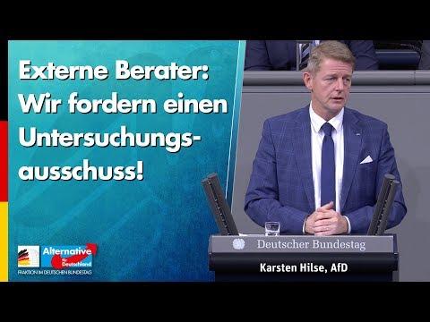 Externe Berater: Wir fordern einen Untersuchungsausschuss! - Karsten Hilse - AfD-Fraktion