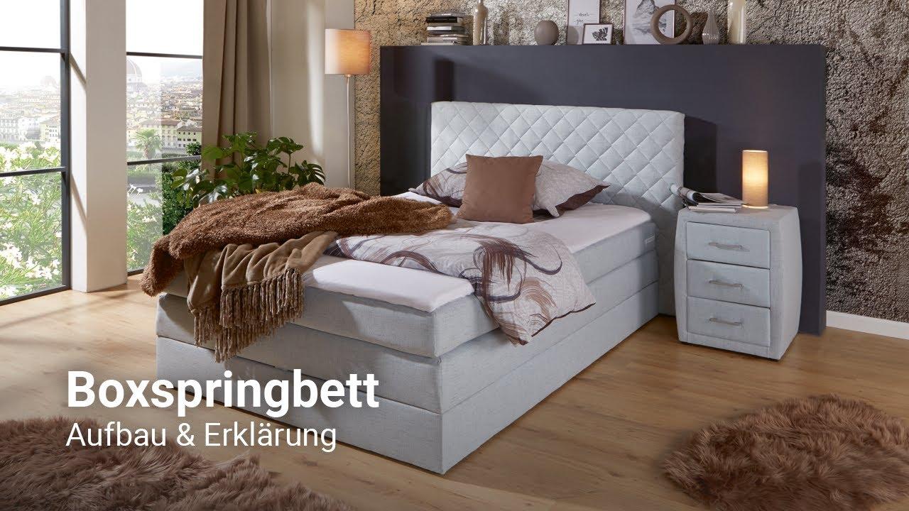 Boxspringbett (Aufbau und Erklärung) - Möbelix Schlafzimmer Beratung