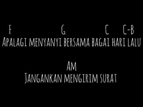Chord lagu lawas (kau tercipta  bukan untuk ku) Ratih Purwasih