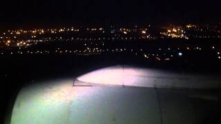 THAI AIRWAYS LANDING AT INDIRA GANDHI INTERNATIONAL AIRPORT T3 NEW DELHI MAH04038