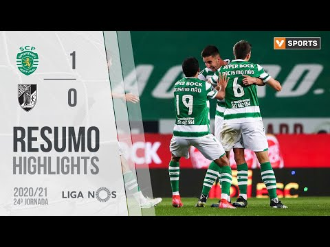 Sporting Lisbon Guimaraes Goals And Highlights