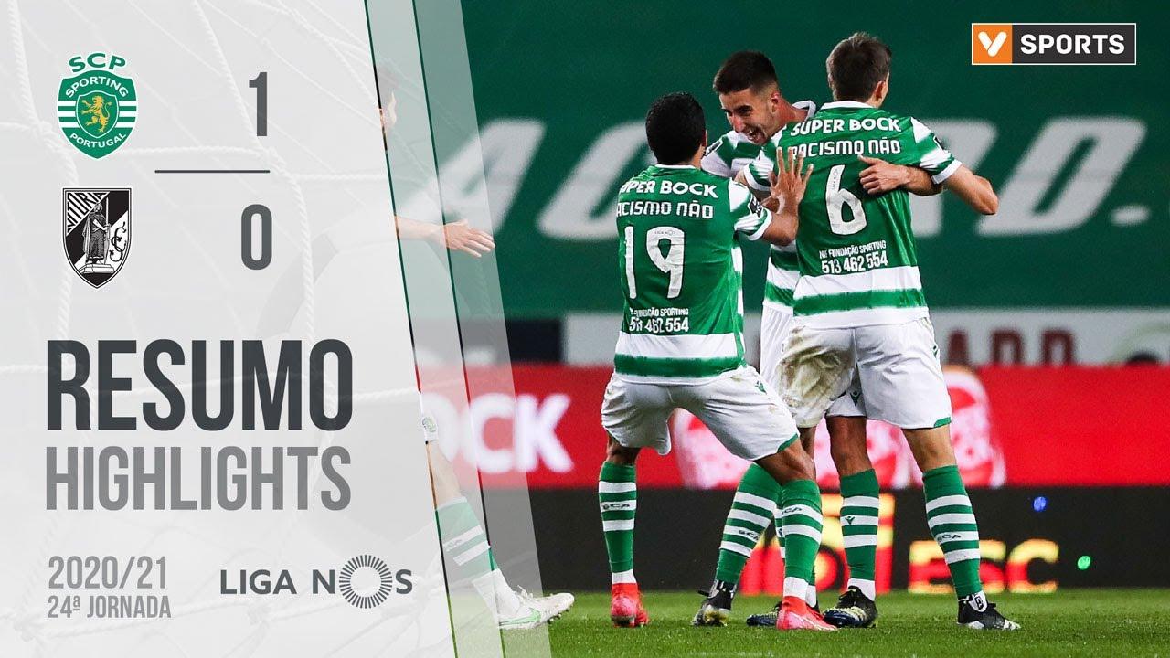 Highlights   Resumo: Sporting 1-0 Vitória SC (Liga 20/21 #24)