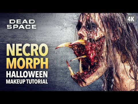 Necromorph Halloween Makeup Tutorial