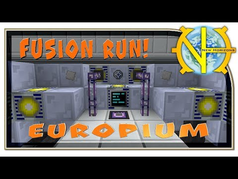 "Fusion run! Как получить Europium ""GT New Horizons"" #150"