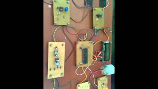 RAILWAY SIGNALLING AND GATE CONTROL SYSTEM USING at89s52 MICROCONTROLLER