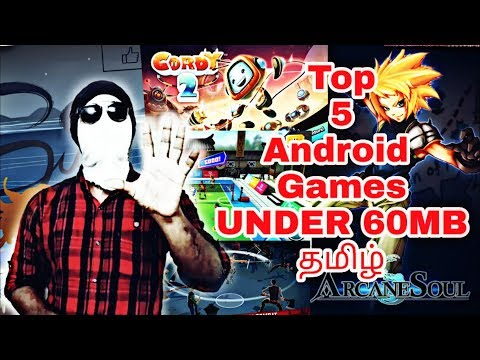 Top 5 Android Games Tamil Good Graphics Under 60mb