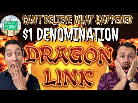 $1 Denom Dragon Link 💥 We Cant Believe What Happened