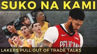 Lakers SUMUKO NA! sa Anthony Davis Trade dahil sa KALOKOHANG demands ng Pelicans