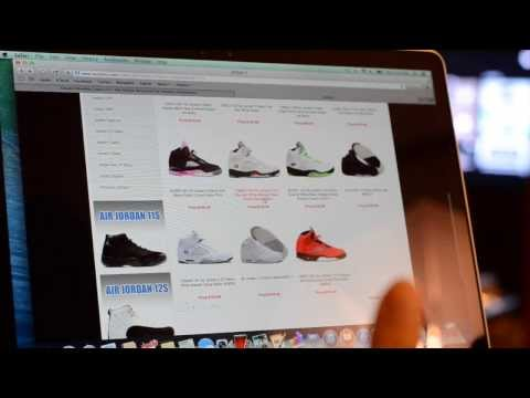 Is that website selling real or fake Air Jordans?
