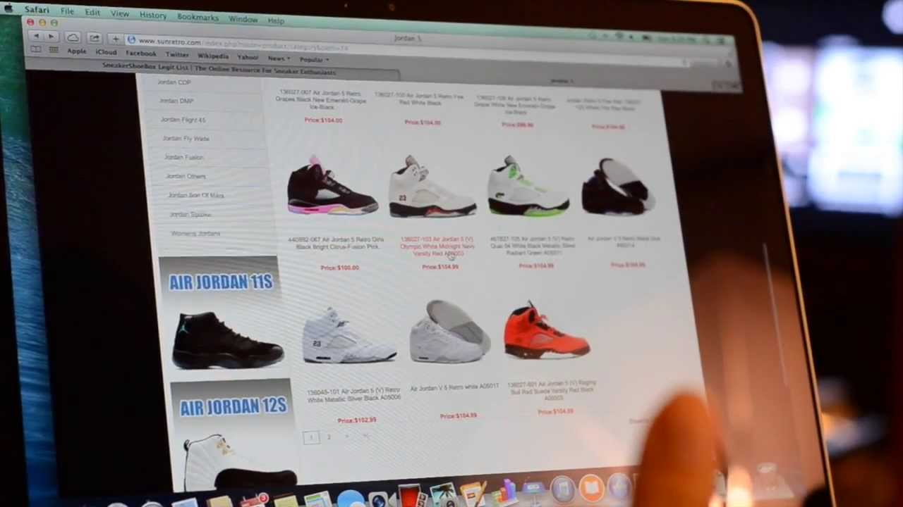 Is that website selling real or fake Air Jordans  - YouTube 46e1f9c62