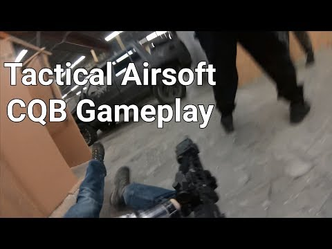 Tactical Airsoft CQB Gameplay