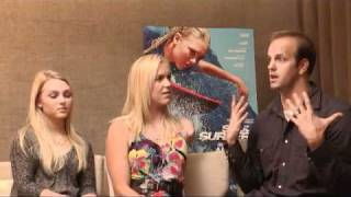 Bethany Hamilton, AnnaSophia Robb, Bryan Jennings talk about Soul Surfer and Walking On Water movies