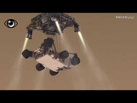 """超震撼短片!""""好奇号""""火星漫游车是如何登陆火星的?"""
