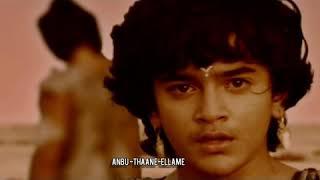Uttar's Death in Mahabharata Bahubali sad Bgm # Mahabharatham #vijaytv #karnan