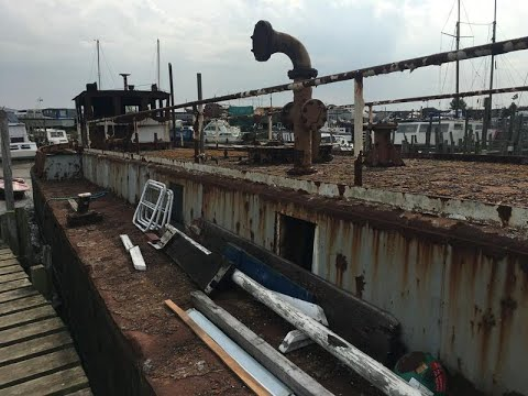 Oil barge to convert - GBP 25,000
