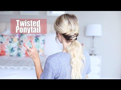Twisted Ponytail | Twist Me Pretty