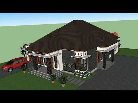 Rumah Minimalis Elegan Luas 14x16 Meter 4 Kamar Tidur Permintaan Bg Jamuhar Youtube