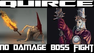 Quirce ,returned from the flames no damage boss fight , Blasphemous no damage boss fight