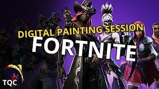 Fortnite Season 6 Skins - Digital Painting Session