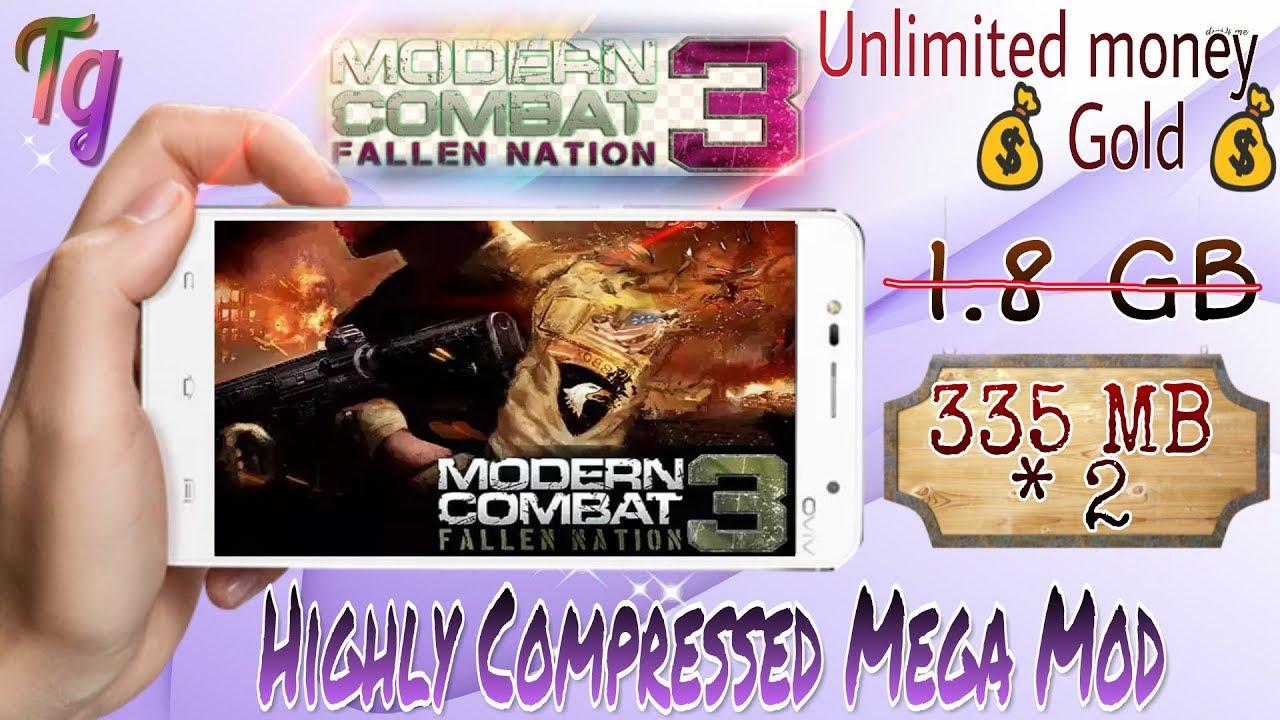 modern combat 3 fallen nation apk sd data highly compressed
