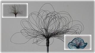 Gartenstecker aus Draht, ganz einfach | Blumen und Dekoration