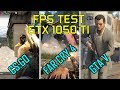 Phenom ii x4 955 @ 3.2 Ghz + GTX 1050 TI EVGA FTW EN 3 JUEGOS | 2017