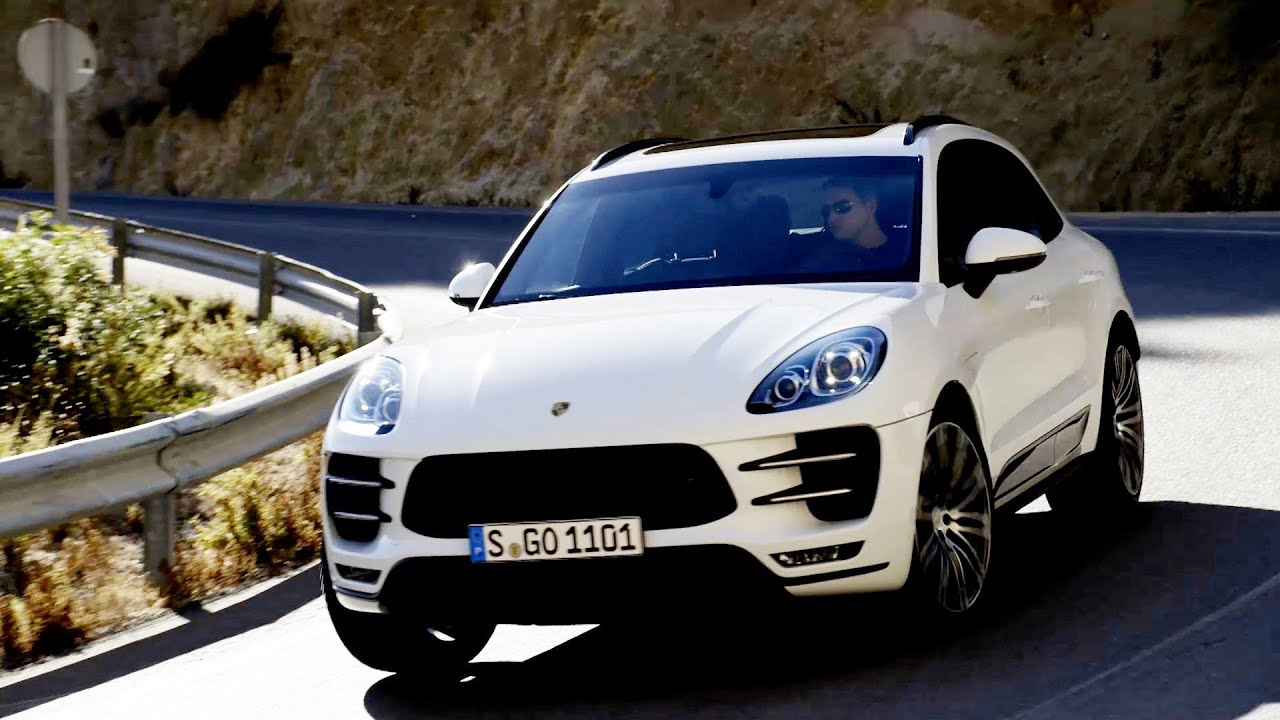 Porsche Macan Turbo First Driving Good Exhaust Sound