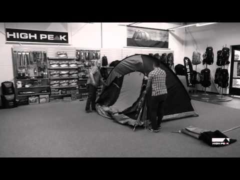 High Peak Zelt Santiago 5 Aufbauvideo / setup video