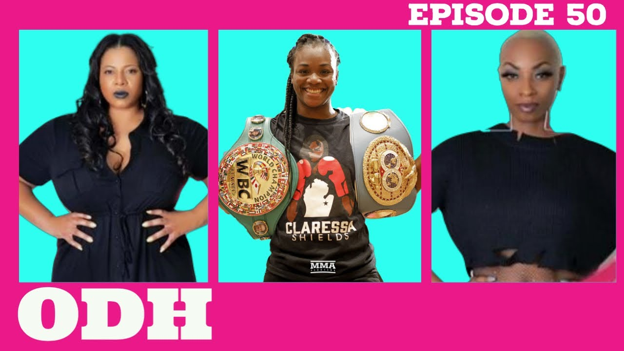 Champion Boxer Answers Questions! | ODH | Ep 50: Claressa Shields| All Def