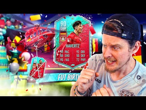 THE RETURN OF THE KING?! 90 FUT BIRTHDAY HAVERTZ PLAYER REVIEW! FIFA 20 Ultimate Team