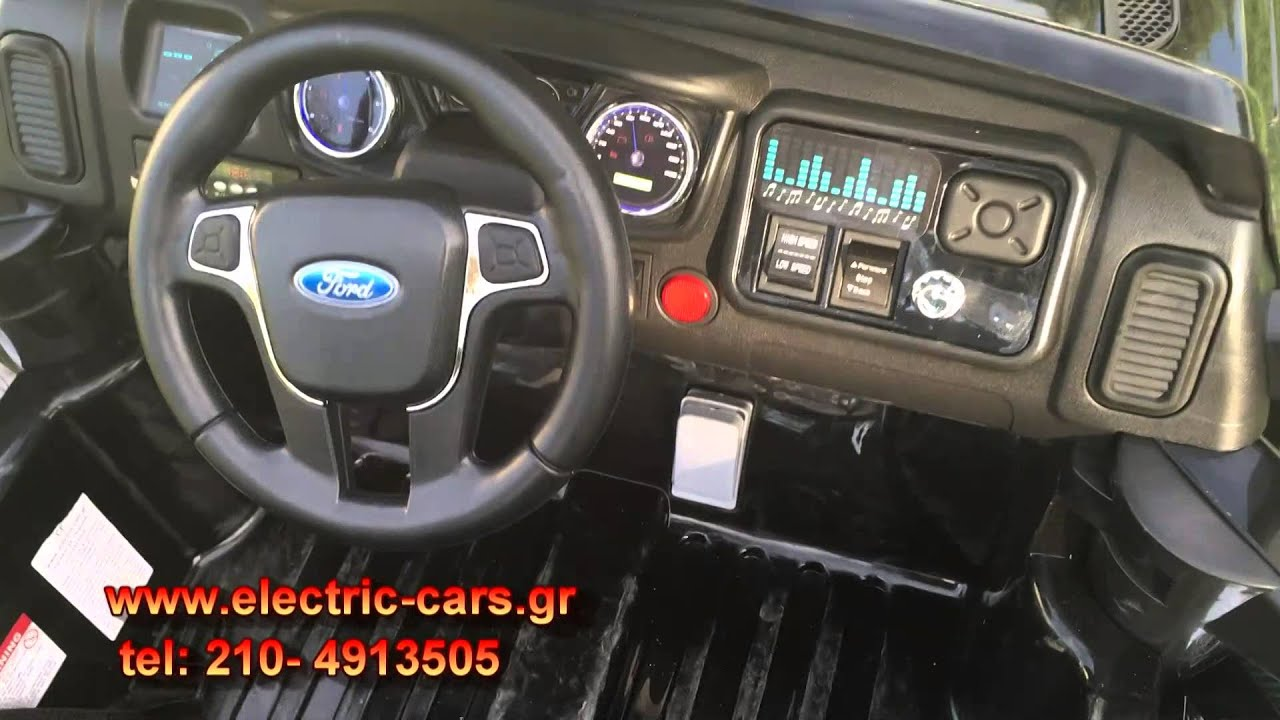 ford ranger licensed 12v rc 24g motors 2x55 watt youtube