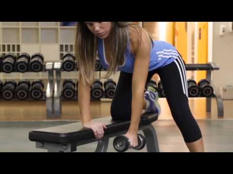 One Arm Dumbbell Bent Over Row - Back Exercise