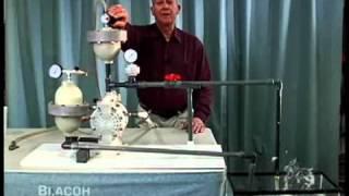 Amortecedores de Pulsações BLACOH para Bombas de Diafragma Pneumático