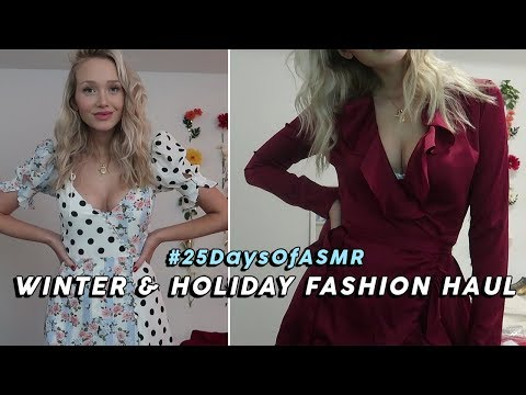 ASMR Chatty Try On Haul! (Urban Outfitters, Reformation, Revolve, Re/Done…) #25DaysOfASMR | GwenGwiz