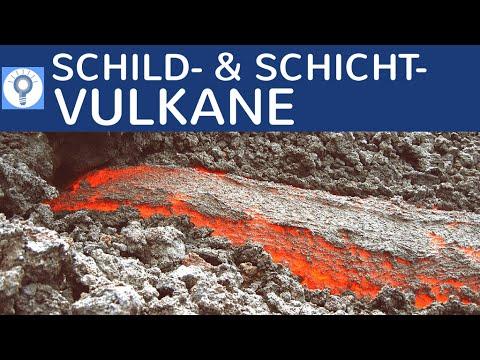 Schildvulkane & Schichtvulkane (Stratovulkane) - Vergleich ...