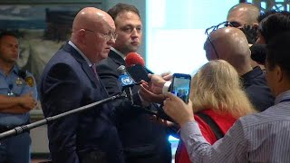 Russia on the Security Council Vote - Media Stakeout (19 September 2019)