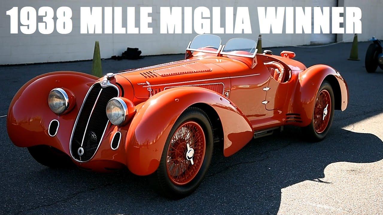 Arthur Bonnet Le Mans 1938 alfa romeo 8c 2900b mille miglia spider | simeone