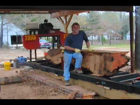 Portable Sawmill With Lathemizer For Hire Wood Mizer Lt