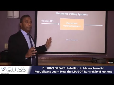 Dr.SHIVA SPEAKS: Rebellion in Massachusetts! Republicans Learn How the MA GOP  Runs #DirtyElections